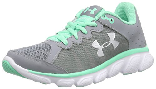 Under ArmourUA W Micro G Assert 6 - Zapatillas de Running Mujer, color Gris (STL/ANF/MSV 35), talla 40.5 EU (6.5 UK)