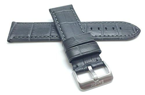 Grey Alligator Strap - 1