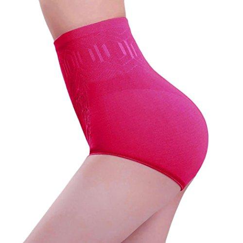 Guaina Vita Hot Success Donna Fascia Contenitiva Elastica Dimagrante Pink Alta Pancera Mutanda Shapewear A Modellante Da Intimo wx44qZpI0
