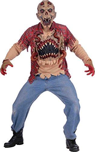 Morris Costumes Men's ALIEN ABDUCTION ADULT (Alien Abduction Adult Costumes)