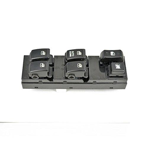 MagiDeal Auto Finestra Anteriore Sinistra Interruttore Di Controllo Principale Elettrico Alzacristalli