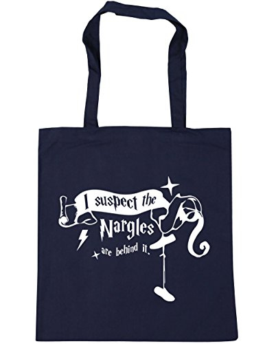 10 It x38cm Navy Suspect Beach I Gym Are Bag Behind Quote French Tote Nargles litres The HippoWarehouse 42cm Shopping gHZYw4q6