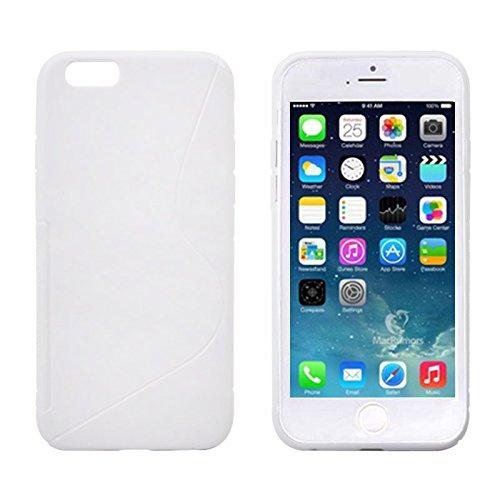THESMARTGUARD ORIGINAL iPhone 6S / 6 Hülle (4.7 Zoll) / Schutzhülle / Case in weiß aus TPU