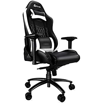 Klim Esports Gaming Chair Executive Ergonomic Racing Computer Chair - Back & Head Support - New