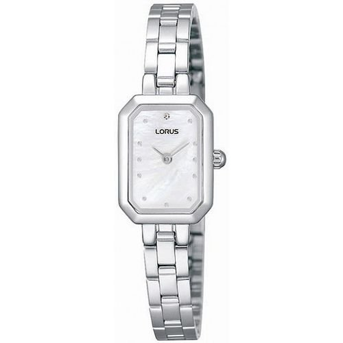LORUS LADIES STAINLESS STEEL WATCH RJ441BX9