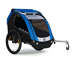 Burley Design Encore Bike Trailer, Blue