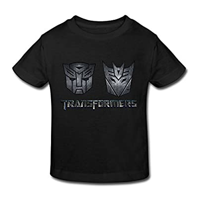 RenHe Toddler Geek Transformers Logo T-shirts