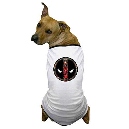 CafePress Deadpool Logo Dog T Shirt Dog T-Shirt, Pet Clothing, Funny Dog Costume]()