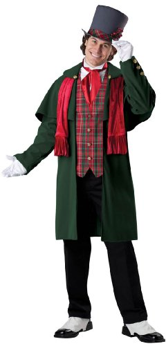 [InCharacter Costumes Men's Yuletide Gent Christmas Costume, Multi, X-Large] (Caroler Costumes)