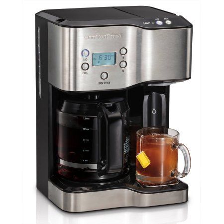 Hamilton Beach 12-Cup Coffeemaker with Hot Water Dispensing 49982