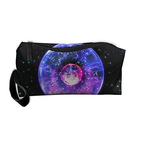 Portable Pen Bag Purse Pouch Black Hole Pattern Zooming Stationery Storage Organizer Cosmetic Holder