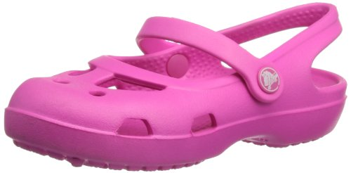 Crocs 11372 Shayna Slingback Sandal (Toddler/Little Kid),Neon Magenta,12 M US Little Kid by Crocs