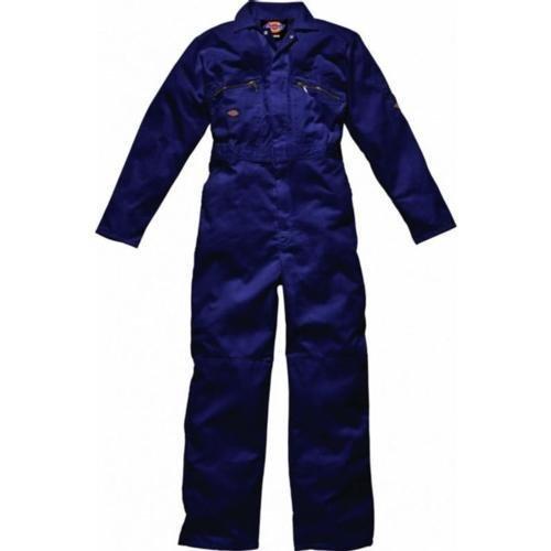 Dickies WD4839zip Boilersuit navy con tasche con cerniera taglia 48regular ciascuno Abbigliamento