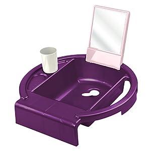 rotho babydesign kiddy wash kinderwaschbecken waschtisch f r kinder ab 12 monate mit spiegel. Black Bedroom Furniture Sets. Home Design Ideas