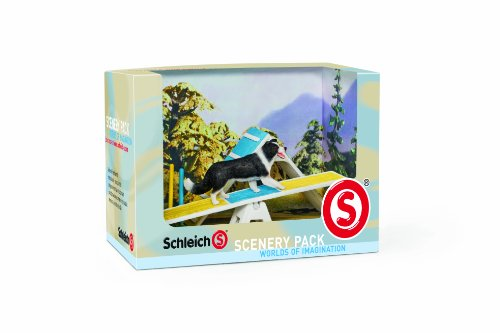 Schleich 41803 - Catalog Scenery Pack Hunde Agility