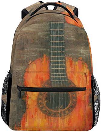 Mochila para Pintar al óleo con diseño de Guitarra, de Madera y ...