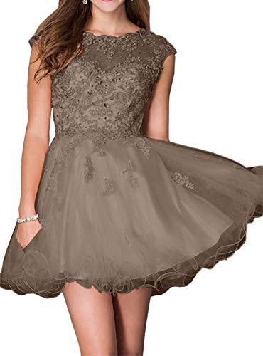Tanzenkleider Mini mit Braut Steine Marie Heimkehr Braun Abendkleider Rosa La Spitze Cocktailkleider Kleider 5pUa8qxzpw