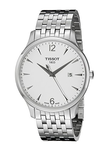 tissot-mens-t0636101103700-tradition-round-silver-tone-bracelet-watch
