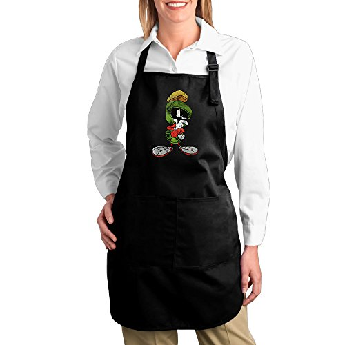 [MARVIN THE MARTIAN Confused Funny Home Kitchen Apron Bib Easy Care] (Looney Tunes Martian Costume)