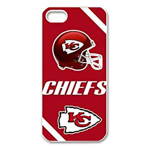 NFL Kansas City Chiefs iPhone 5 5S KC Chiefs Logo Hard Case Cover Protector Gift Idea
