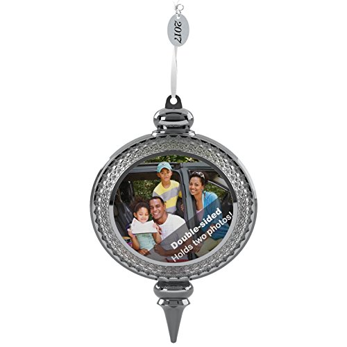 Hallmark Keepsake 2017 A Beautiful Year Two-Sided Picture Frame Dated Christmas Ornament (Picture Ornament)