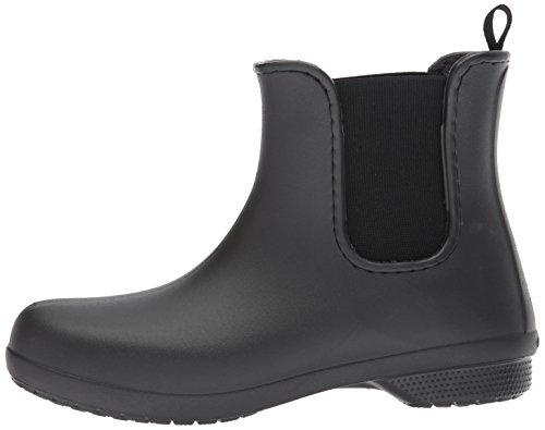 Gomma Gomma Chelsea Black Stivali Freesail Donna di di Black Nero Women Boot Crocs nRfTWqFwn