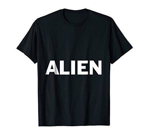 Alien Lazy Halloween Costume Funny T -
