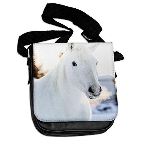 Cavallo Bianco animale borsa a spalla 319