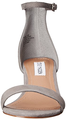 Steve Madden Women's Irenee Heeled Dress Sandal Grey Suede discount browse sale newest professional cheap price ehBPNKw