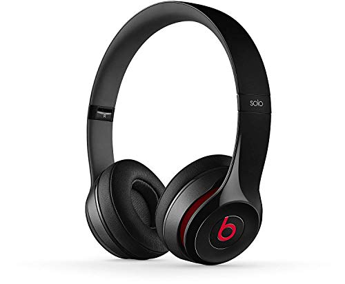 Beats by Dr. Dre Solo2 Bluetooth Wireless On-Ear Headphone with Mic - Black (Renewed)    (Beats By Dr Dre Solo2 On Ear Headphones)