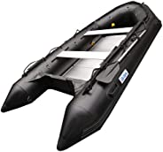 BRIS 1.2mm PVC 12.5 ft Inflatable Boat Inflatable Dinghy Rescue