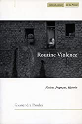 Routine Violence: Nations, Fragments, Histories (Cultural Memory in the Present)