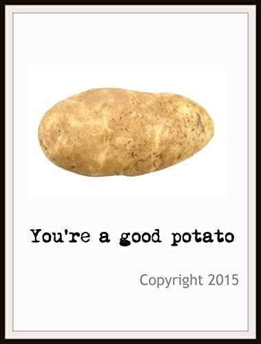 (Motivational Potato Art Print