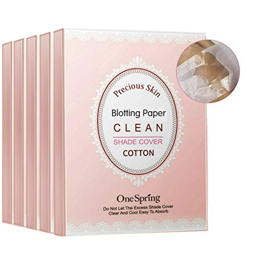 Blotting Papers For Face, Portable Blotting Paper To Instantly Remove Oil and Shine,Clean & Clear Oil-Absorbing Sheets…