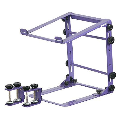Tabletop Music Controller Digital (Odyssey LSTANDMPUR Designer DJ Series L Stand Mobile, Purple)
