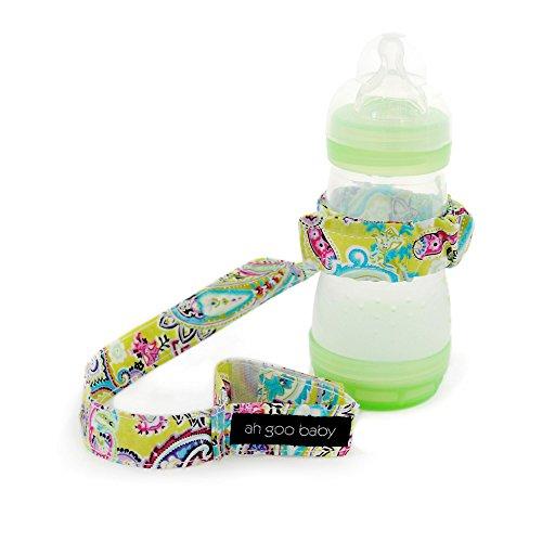 Ah Goo Baby Bottle Strap, Bloom