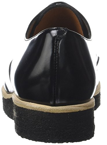 Multicolore Copper Derby Scarpe Crepe cordoban Pony Emma Go Donna Calvin Stringate Black gn04PPqTxw