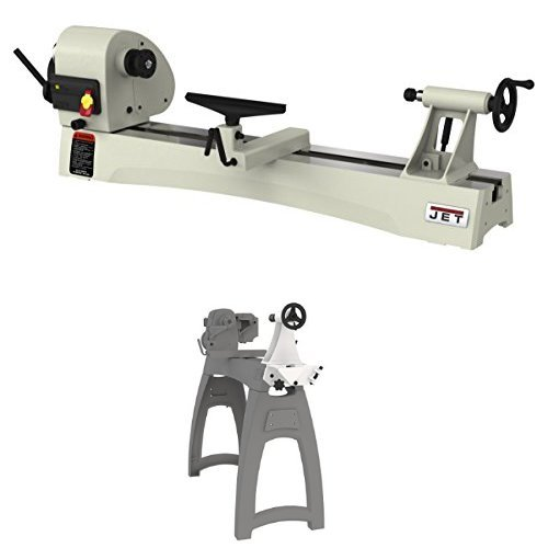 Jet JWL-1440VS 1 hp Benchtop Lathe with Tailstock Swing Away for 14 , 16 and 18 Lathes