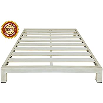 Amazon.com: Stella Metal Platform Bed Frame - Modern Finish ...