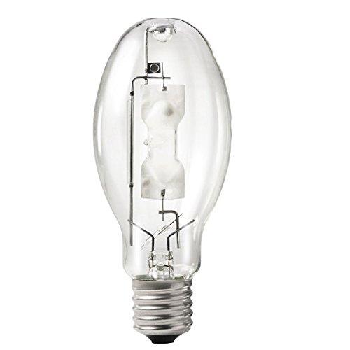 Philips Lighting 232520 ED28 Standard Metal Halide Lamp 400 Watt E39 Mogul Base 44000 Lumens 68 CRI 4000K Cool White ()