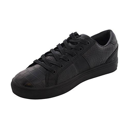 mens-phat-farm-bryce-croc-leather-black-mono-fashion-sneakers-95-m-us