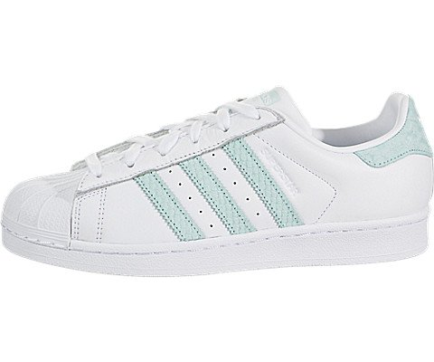 Adidas Women's Superstar W, White/Supplier Colour/Legacy, 6 M US