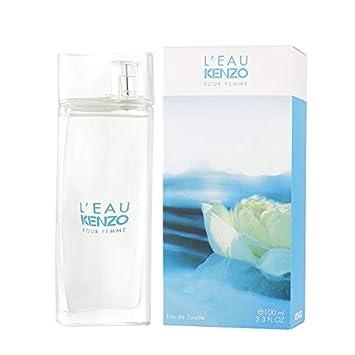 L eau Par Kenzo by Kenzo, 3.3 oz Eau De Toieltte Spray for women. Leau Package May Vary