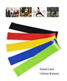 asveryook Resistance Bands For Legs And Butt, Resistance Loops,  Workout Bands For Home Fitness, Stretching, Physical Therapy, Natural Latex Mini Bands For Exercise