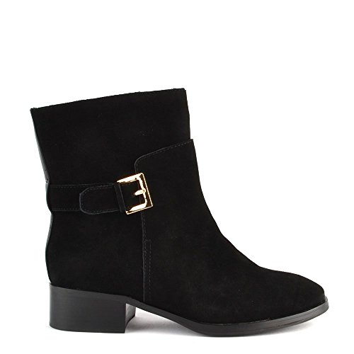 Suede Elia Black Boot B Lucy Black Ankle Shoes xCHqgZ