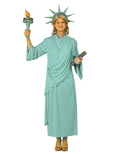 Statue Of Liberty Costumes Book - Miss Liberty Adult Costume -