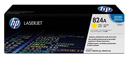 (HP 824A (CB382A) Yellow Toner Cartridge for HP Color LaserJet CP6015 CM6030 CM6040 )