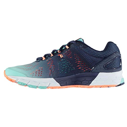 Karrimor Womens Tempo 5 Support Road Running Shoes Navy/Coral Un0P2