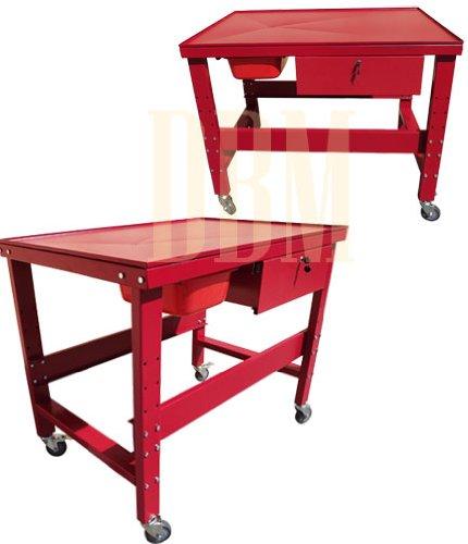 12-Ton-Transmission-Tear-Down-Table-1000-LB-Mechanic-Work-Bench-Table-Cart
