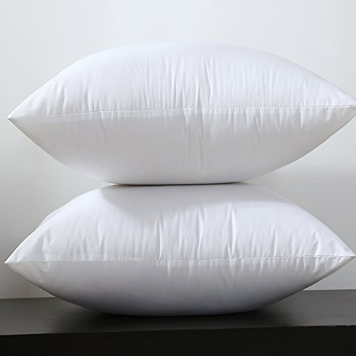 Square White Peached Fabric Cushion Insert Decorative Pillows PP Cotton Filling 450g for 45x45cm 380grams 30x50cm Sell by Piece